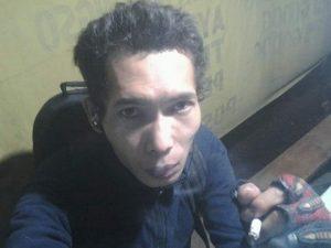 Tersangka Deni Priyanto yang memutilasi selingkuhannya pegawai Kemenag Bandung, diambil dari Fb (arf)