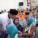 Tri Adhianto Lepas 2.731 Calon Jamaah Haji asal Jawa Barat