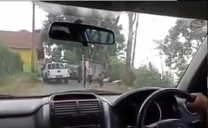Video viral pria diduga intimidasi warga dengan senpi