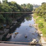 aliran Sungai Cileungsi di daerah Nambo