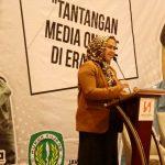 Bupati Karawang di acara Ikatan Wartawan Online (IWO) Kabupaten Karawang (ist)