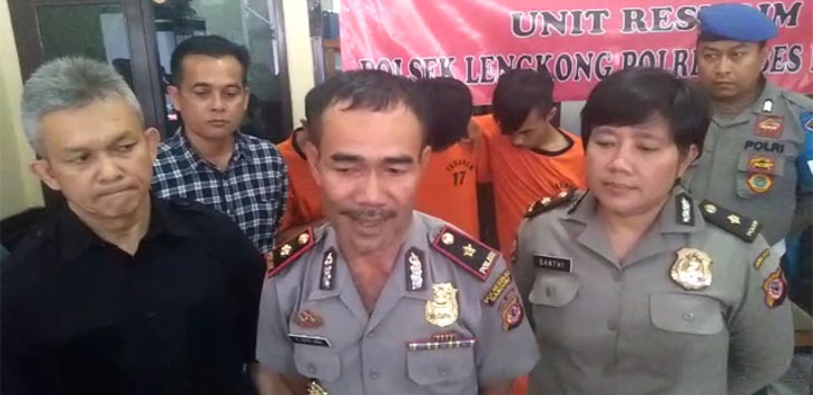 Curi Motor Polisi, Tiga Pemuda di Bandung Berhasil Diringkus