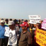 Demo Nelayan di Karawang