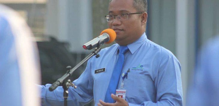 Direktur Utama PDAM Karawang, M. Sholeh./Foto: Ega