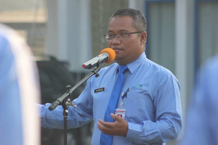 Direktur Utama PDAM Karawang, M. Sholeh
