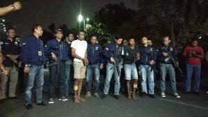 Dua eksekutor pembunuhan dan pembakaran 2 mayat di Sukabumi Jawa Barat digiring ke Polda Metro Jaya (firdaus)