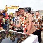 Gubernur Jabar bersama Bupati Bogor di Pasar Cisarua (ist)