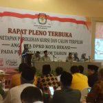 KPU Tetapkan 50 Anggota DPRD Kota Bekasi Terpilih