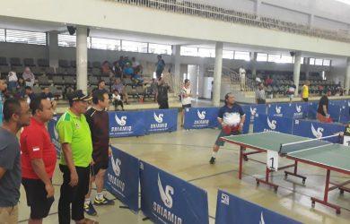 Kegiatan Tenis Meja di OSO Sport Center