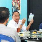 Ketua PWI Jabar Hilman Hidayat di Kantor PWI Kota Bogor (adi)