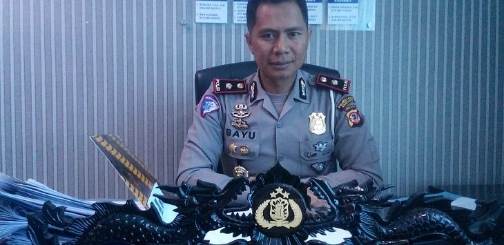 Kasatlantas Polrestabes Bandung Kompol Bayu Catur Prabowo./Foto: Arief