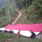 Masyarakat Lembah kibarkan bendera Sang Saka Merah Putih