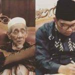Momen Gubernur Jabar Ridwan Kamil dan Mbah Moen