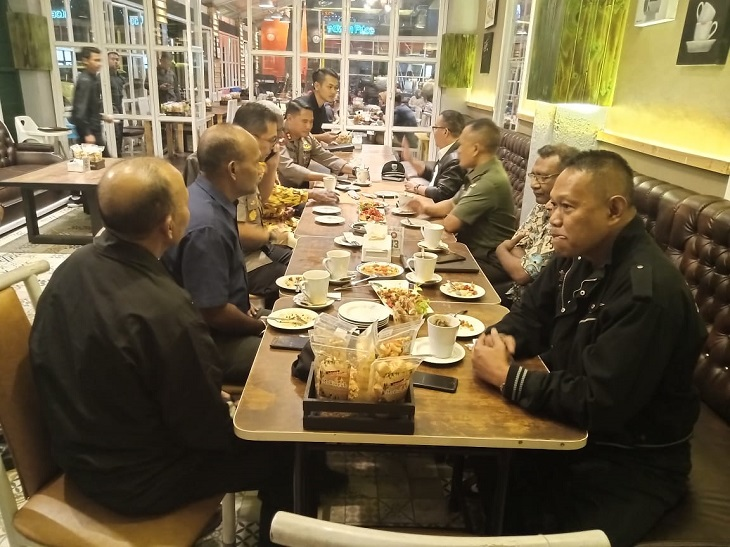 Muspida Kota Bandung ngobrol bareng warga Papua di Bandung