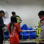 Nurul Fitri yang terlindas kereta api Bogor-Sukabumi (ist)