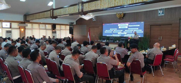 Operasi Libas Lodaya 2019 di Mapolda Jabar, Bandung, Rabu (21/8/2019)./Foto: Arief