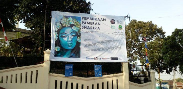 Lokasi acara Pameran Sharira./Foto: Istimewa