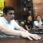 Para pemain film Gundala di Cibinong City Mall (CCM) (cek)