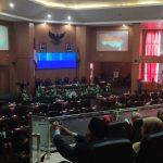 Paripurna DPRD Kab Bogor mendengarkan pidato Presiden Jokowi (cek)