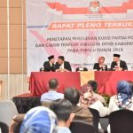 Penetapan Anggota DPRD Kabupaten Bogor terpilih 2019-2024 oleh KPUD (cek)