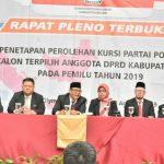Penetapan Anggota DPRD Kabupaten Bogor terpilih periode 2019-2024 (cek)