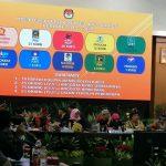 Pleno KPU Jabar Penetapan Anggota DPRD Jabar 2019-2024 (ist)