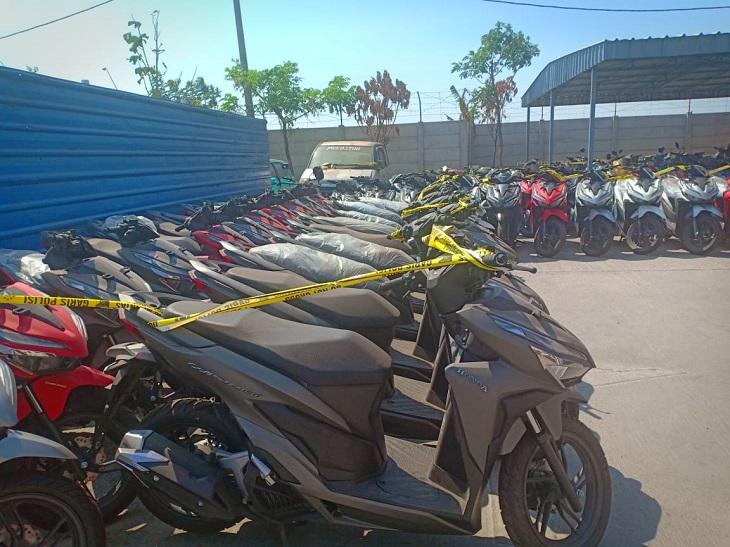 Polda Jabar ungkap penjualan sepeda motor di Jabar