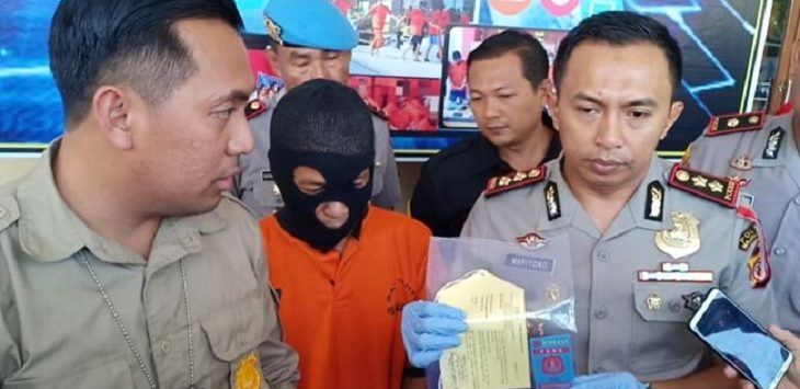 Kapolres Majalengka AKBP Mariyono ungkap kasus pemerasan melalui pemberitaan./Foto: Rmol