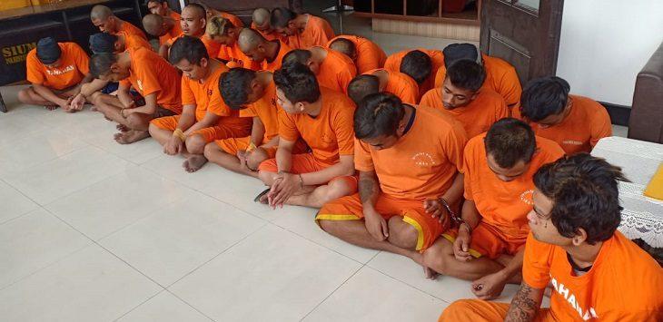 Polrestabes Bandung ungkap kasus kejahatan./Foto: Arief