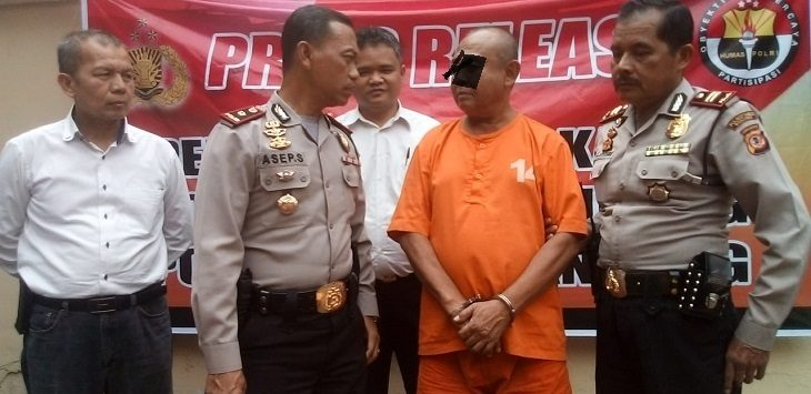 Polsek Kiaracondong ungkap kasus pencurian dengan kekerasan, Selasa (13/8/2019),.Foto: Arief