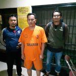 Pria yang menipu ratusan warga Sumedang soal waduk Jatigede yang ditangkap polisi (ist)