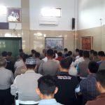Jajaran Polres Cirebon gelar salat ghaib di Mapolres Cirebon. Kirno/pojokjabar
