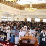 Shalat ghaib untuk Mbah Moen diikuti Kapolda, Pangdam dan Gubernur Jabar (arf)