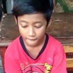 Sosok bocah Depok viral