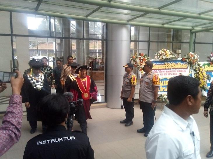 Suasana area sidang doktor Irjen Boy Rafli Amar
