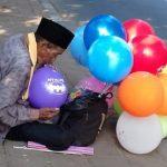 Surahman pedagang balon