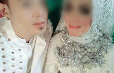 foto pernikahan pelaku video porno Vina Garut