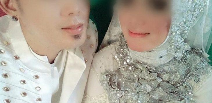 Foto pernikahan Rayya dan Vina, pelaku video porno Vina Garut./Foto: Istimewa