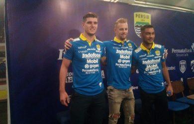 Tiga pemain luar negeri yang didatangkan Persib Bandung (arf)