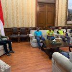 Walikota Bogor Bima Arya memarahi panitia Bogor Half Marathon di Balaikota (ist)