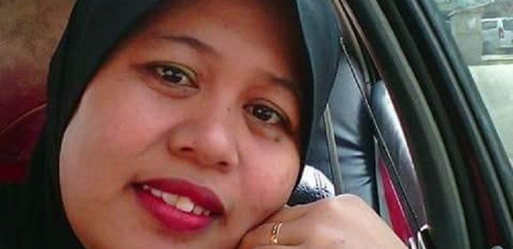 Danil alias Sumarni binti Awing mencari sanak keluarganya yang hilang./Foto: Istimewa