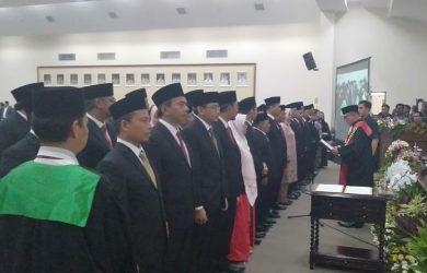 50 anggota dprd dilantik