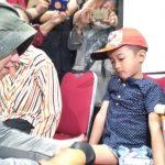 Arkam bocah 5 tahun yang tak memiliki kaki (adi)