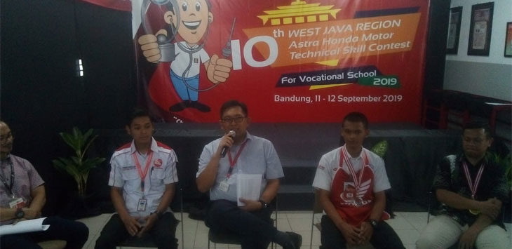 The 10th Astra Honda Skill Contest for Vocational School 2019
