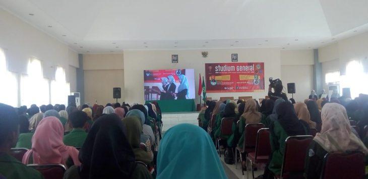 Stadium General IAIN Syekh Nurjati Cirebon mengenai sosialisasi bahaya narkoba dengan bekerjasama Badan Narkotika Nasional (BNN) di Aula Pascasarjana. Alwi/pojokjabar