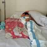 Bocah 7 tahun di Jasinga yang dicakar monyet (ist)