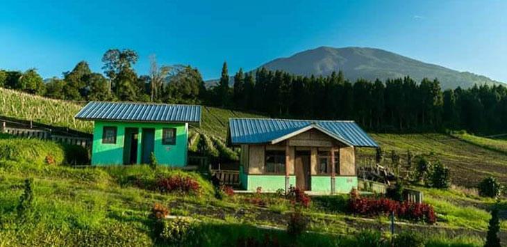 Susana Bukit Naimin di Kaki Gununggede Pangrango Desa Cisarua, Kecamatan Sukaraja yang memiliki pemandangan eksotis. Ist