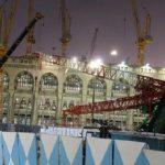Crane di Masjidil Haram roboh