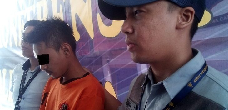 Polda Jabar ekspose kasus video syur diduga PNS Pemprov Jabar, Jumat (20/9/2019)./Foto: Arief