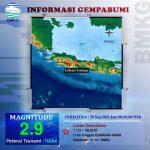 Gempa bumi mengguncang Kabupaten Kuningan pada Minggu pagi (ist)